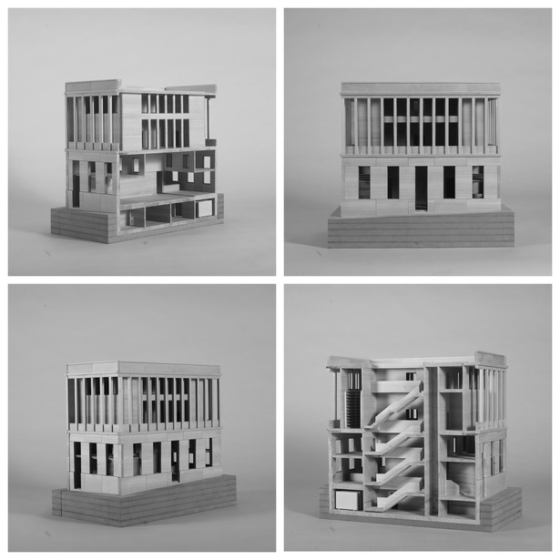wooden model sc.1:50