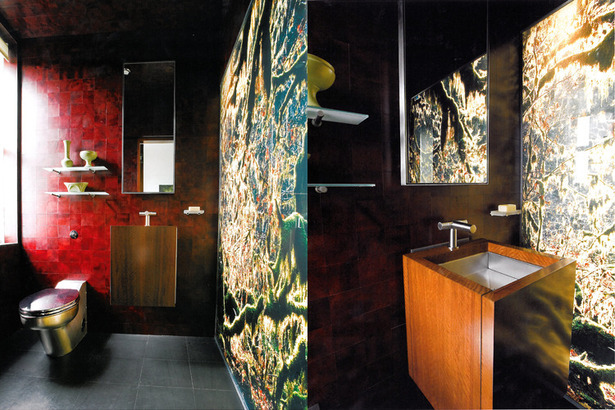 Central Park Mix Powder Room. Photos: T. G. Olcott; Michael Grand; Antoine Bootz; Andrew French