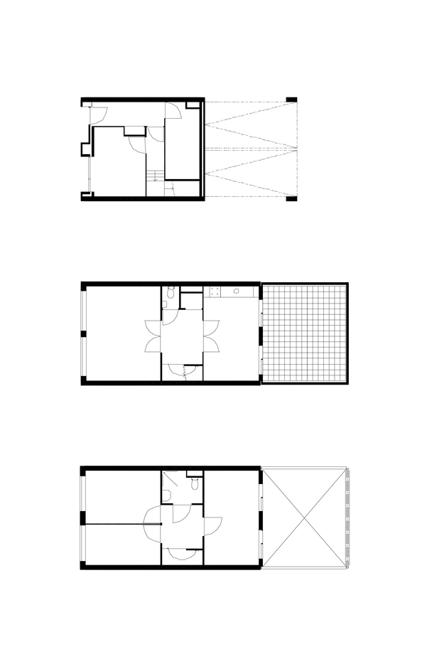 Claus en Kaan Architecten / Floor plans - type 1