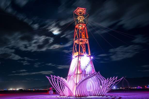 This was the final piece at burning man with a focus on my design for the tower.