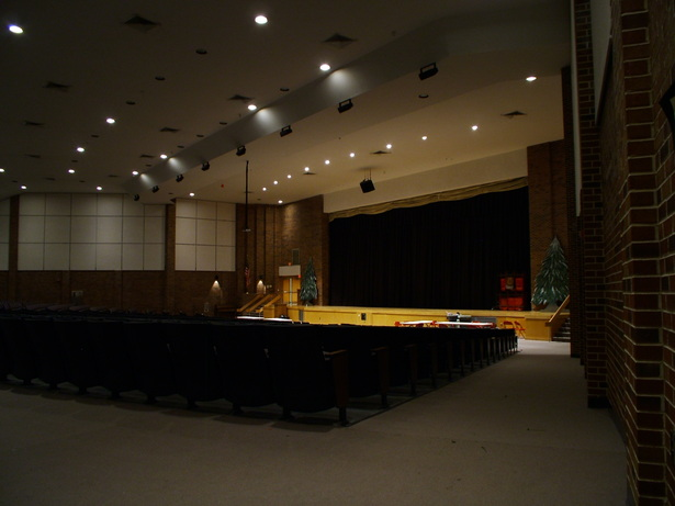 INTERIOR VIEW OF AUDITORIUM