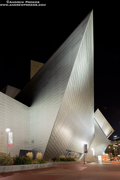 Recent architectural photography andrew prokos for Denver art museum concept