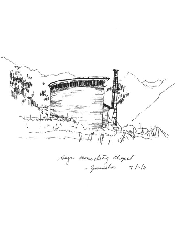 Sogn Benedetg Chapel, Sumvitg, Peter Zumthor