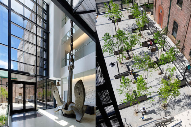 Entry Lobby; Courtyard