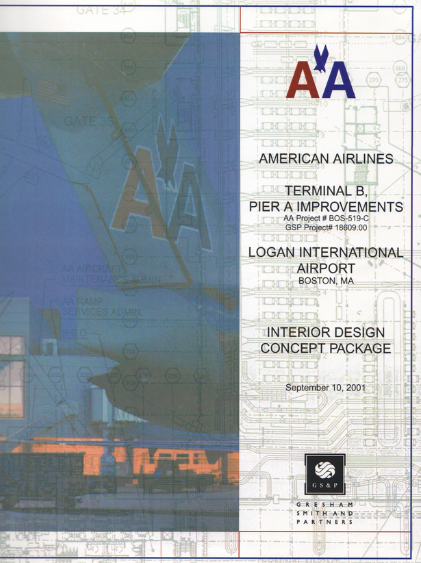 Front cover of Design Presentation brochure