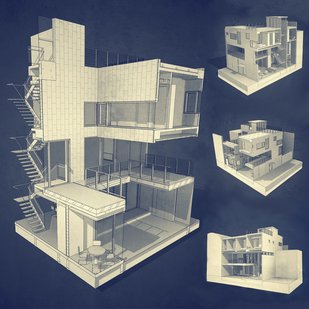 BIM model. PAUL CREMOUX studio
