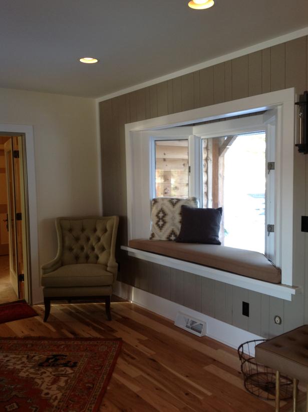 Window Seats in Living Room