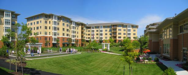 Community Building Courtyard