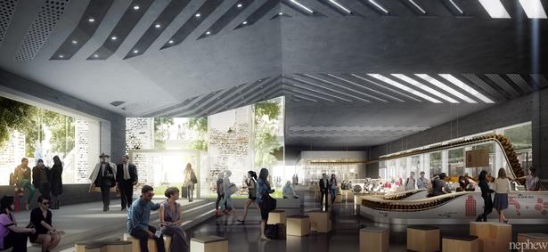 S.WIEMER+Nephew - Badel Block Masterplan, Zagreb - Kickstand Coffeebar by Knowhow shop