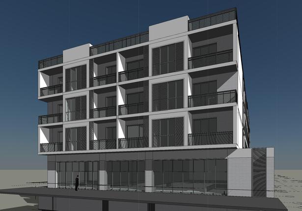 G 3 Residential Building Concept Design Aleksander