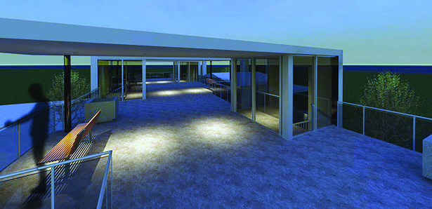 Rooftop Pavilions