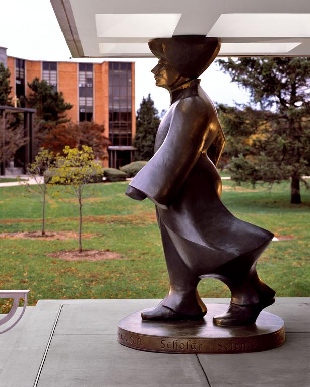 Albert the Great Sculpture
