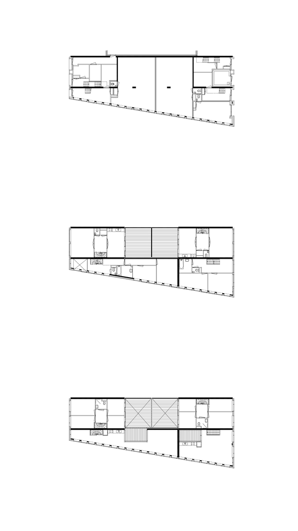 Claus en Kaan Architecten / Floor plans - type 2a