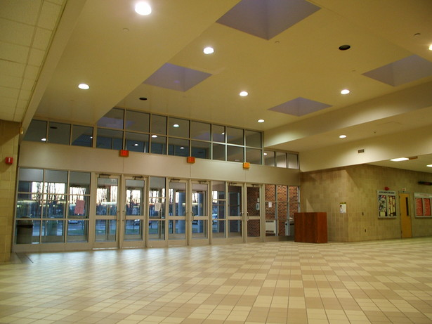 INTERIOR VIEW OF MAIN ENTRANCE