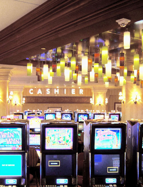 Casino Light Feature