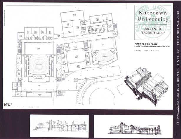 First Floor Plan and Sketches