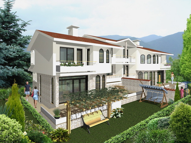 Private House Villa Kalina - visualization