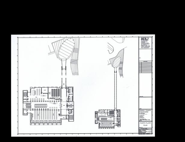 Fourth Floor Plan - Library