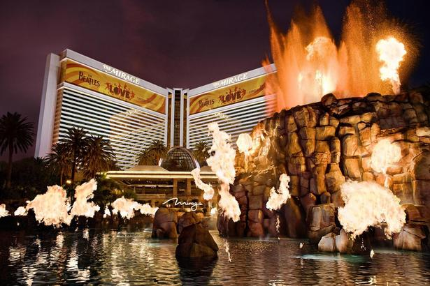 The Volcano at the MIRAGE - Las Vegas, NV
