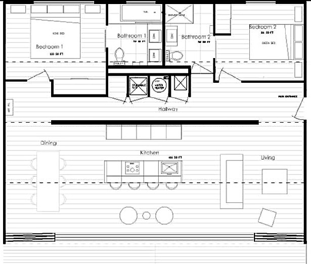 IQ haus Floor Plan