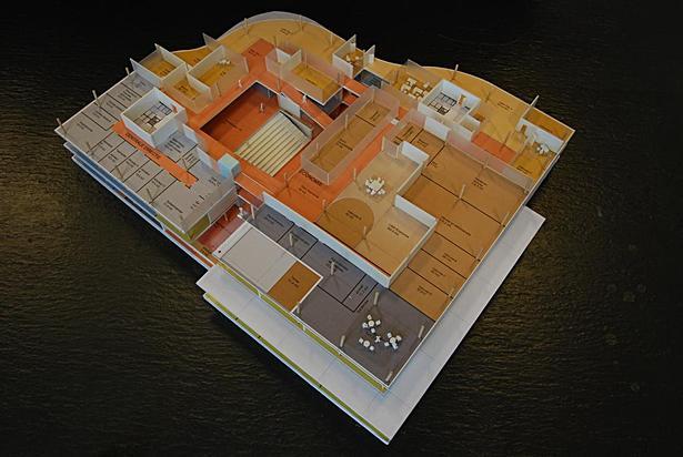 interior model