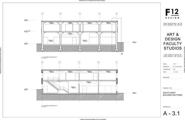Southwest Building Sections