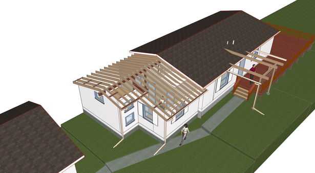 Working ArchiCAD Model - Color choices have yet to be made.