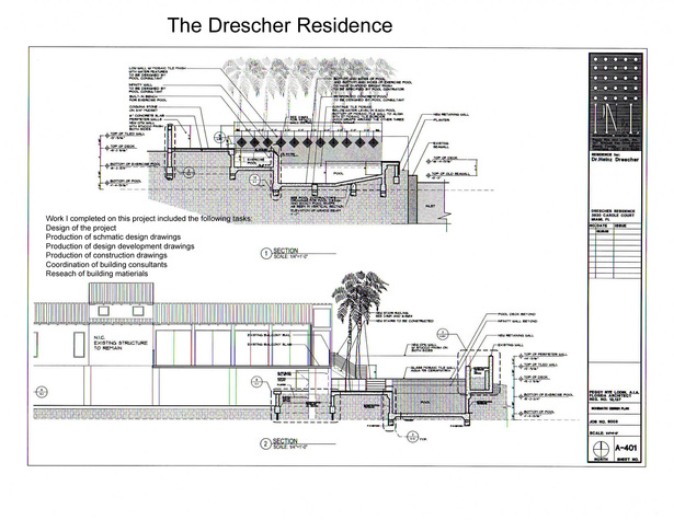 The Drescher Residence-sections