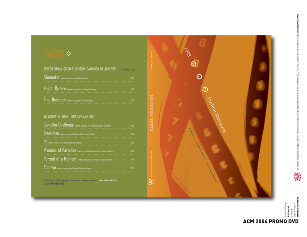 ACM 2004 Promo DVD