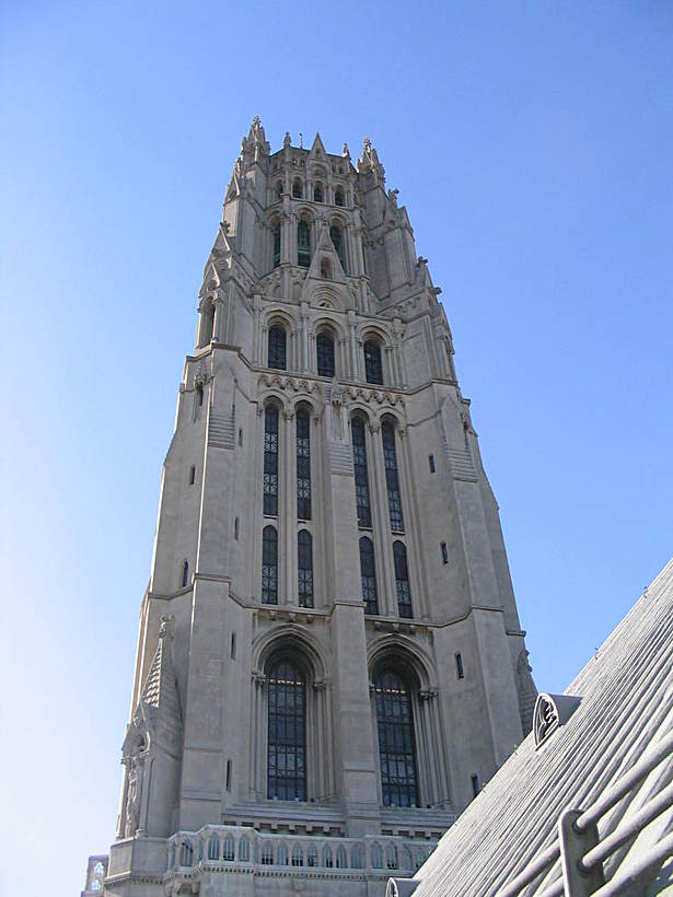 Riverside Church spire