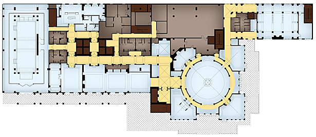 Amenties Floor plan