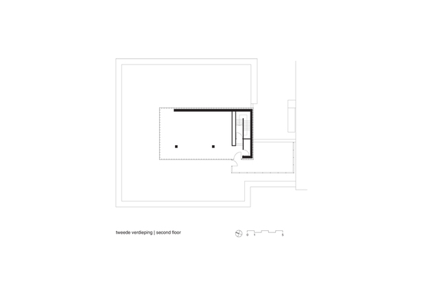 Claus en Kaan Architecten / Second Floor Plan