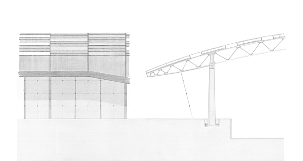Elevation and Wall Section