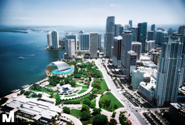 Miami Barrel in Bayfront Park