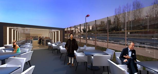 Garden Cafeteria /Site:Portugal /Architect;Concept Designer:Marco Rocha