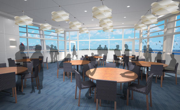 New Port Canaveral Welcome Center function room