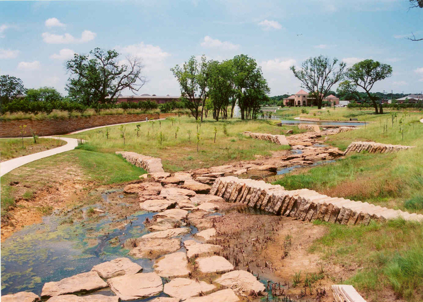 Stone Structures in the Greenbelt Creek