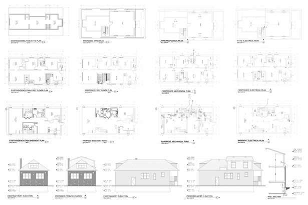 AutoCAD drafting sample