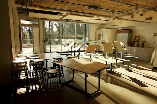 Westmont College Adams Center classroom (Arts Building)