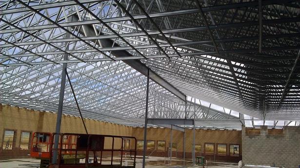 20,000sf Platoon Building framing