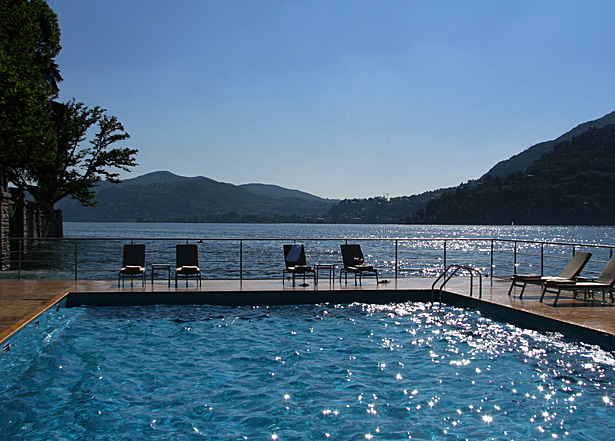 CastaDiva Resort, Lake Como, Italy - Pool