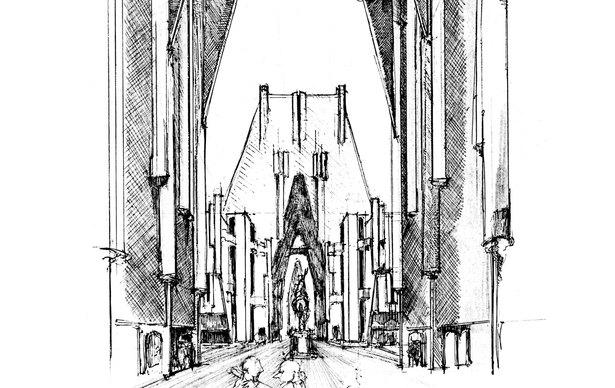 La P 233 Tite Cathedrale Ricardo Bofill Taller De