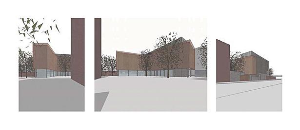 Exterior renderings