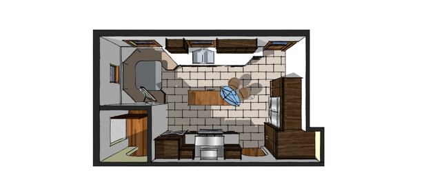 Proposed Kitchen Plan