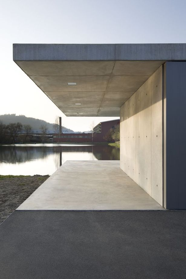 A subtle compression of space, framing views of the lake and the local topography image © felix krumbholz