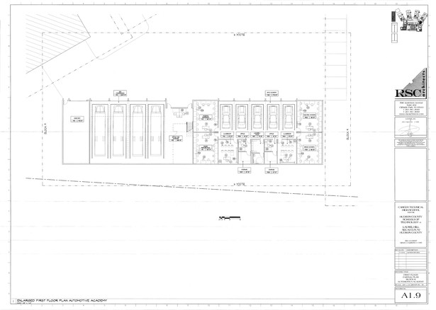 First Floor Plan - Partial Plan, Block 9