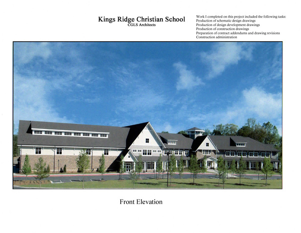 Kings Ridge Christian School-built exterior image