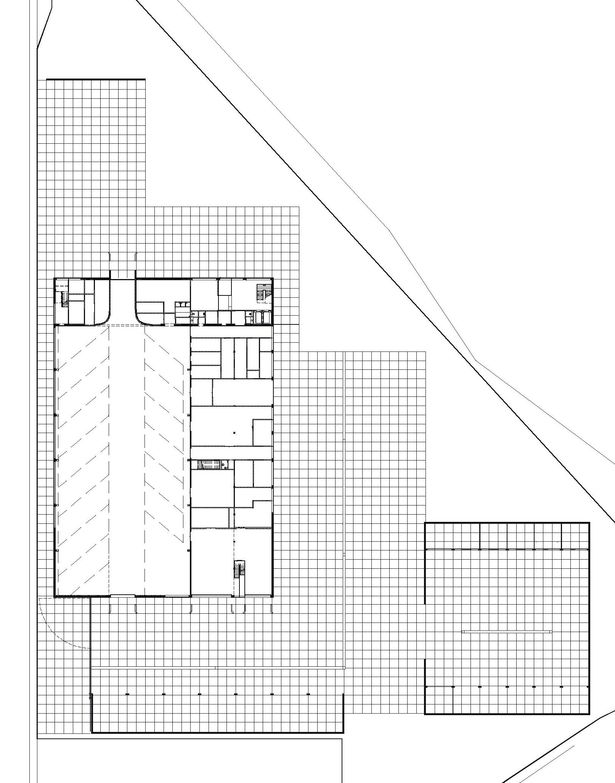 Claus en Kaan Architecten / Site plan + Ground Floor plan