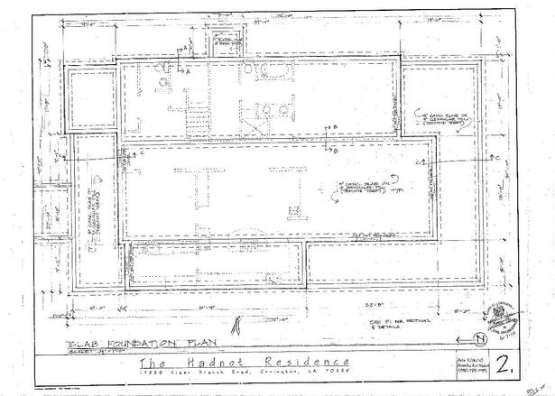 Slab Foundation Plan