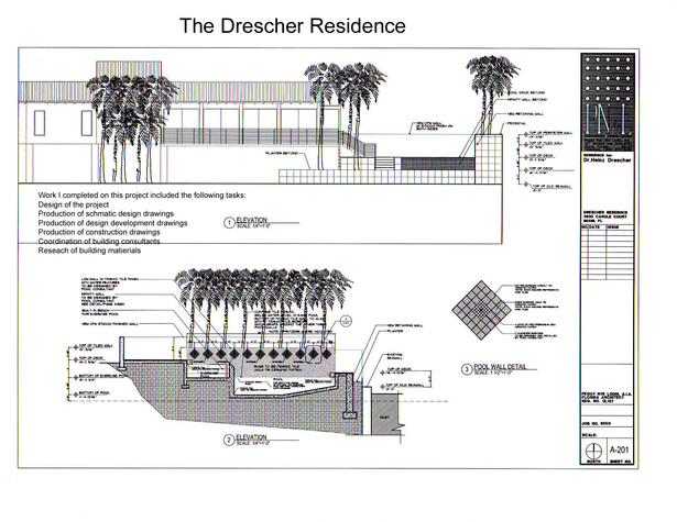 The Drescher Residence-elevations